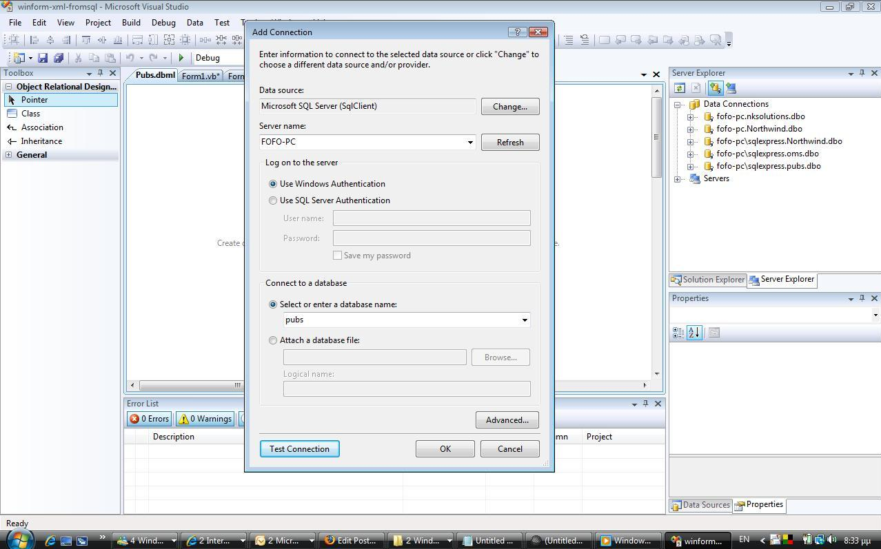 Create an xml file using linq and import xml data into an for Table design in xml