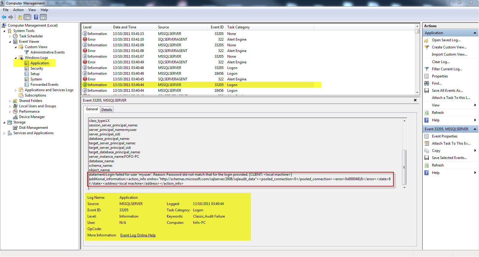 Performing Auditing in SQL Server environments   DOT NET RULES