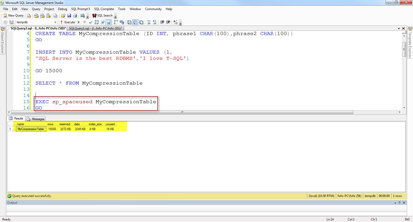 sql server data dictionary stored procedure