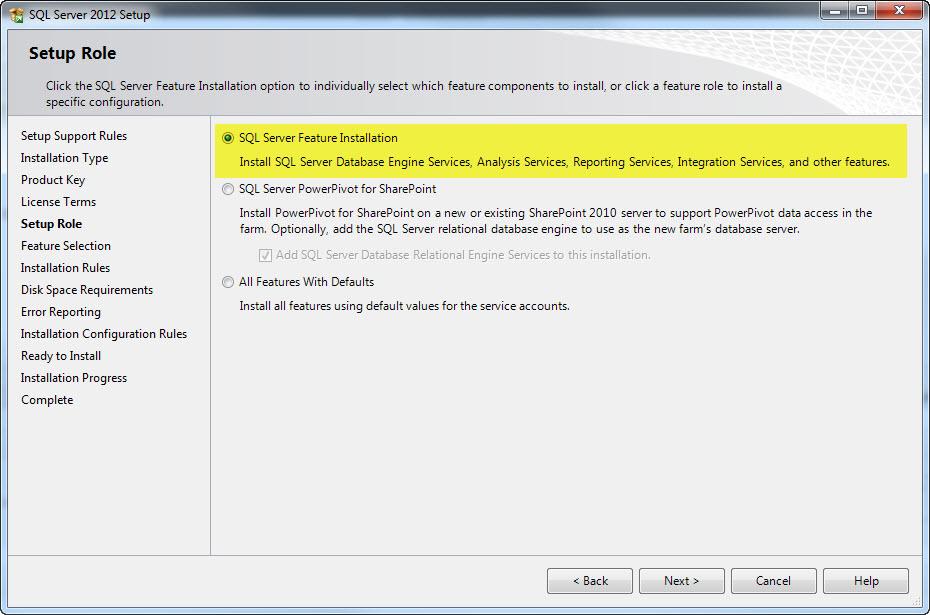 Installing A Named Instance Of Sql Server 2012 | Dot Net Rules